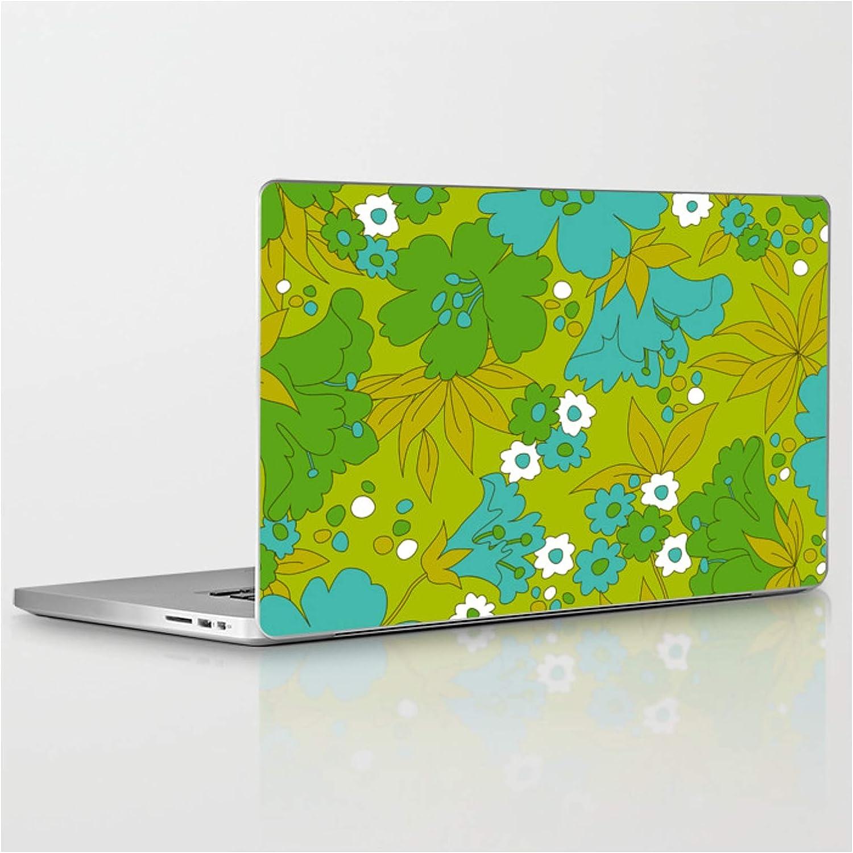 Green Boston Mall Turquoise and White Retro Eyest by Flower Design Pattern Regular dealer