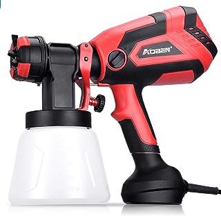 AOBEN Paint Sprayer, 750W Hvlp Spray Gun, Electric Paint Gun with 4 Nozzles, 1000ml..
