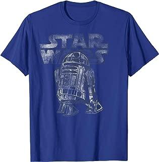 R2-D2 Vintage Style Graphic T-Shirt C2