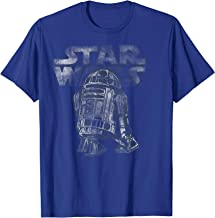 Star Wars R2-D2 Vintage Style Graphic T-Shirt C2