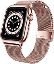 jwacct Stainless Steel Bands Compatible for Apple Watch...