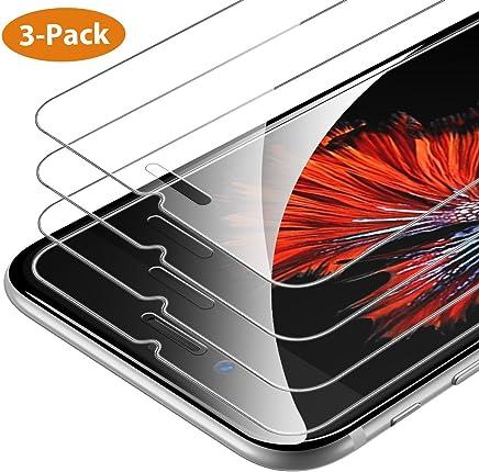 Protector de Pantalla Syncwire Compatible con iPhone 6 Plus iPhone 6s Plus, 3 Unidades, HD 3D Touch, dureza 9H, 2.5D, Cristal Protector de Pantalla Ultra Transparente para iPhone 6 Plus/6S Plus