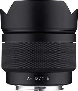 Samyang 12mm F2.0 AF Ultra Wide Angle Auto Focus Lens for Sony E Mount (SYIO12AF-E)