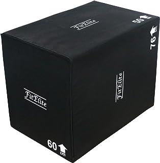 FitElite(フィットエリート) ソフトプライオボックス3 in 1(ジャンプボックス・昇降台・ジャンプ台・ステップ台)