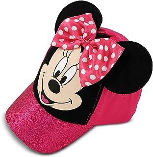 Disney Girls' Minnie Mouse Bow-Tique Cotton Baseball Cap