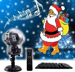 GAXmi Christmas Projector LED Lights Animation Music Decorative Lighting for Children Unicorn Birthday Easter