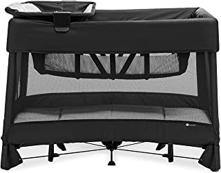 4moms breeze plus Portable Playard with Removable Bassinet and Baby Changing Station, Easy One-Handed Setup, from The Make...