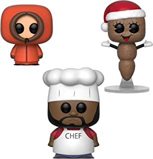 Funko TV: POP! South Park Collectors Set - Chef, Kenny, Mr. Hankey