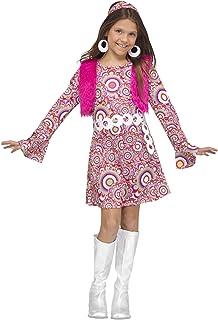 Fun World Shaggy Chic Child Costume, Medium, Multicolor