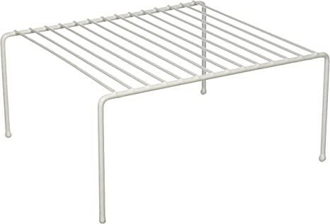 Amazon Com Grayline White 40700 Small Kitchen Helper Shelf 1 Pair Pack Of 1 Home Kitchen