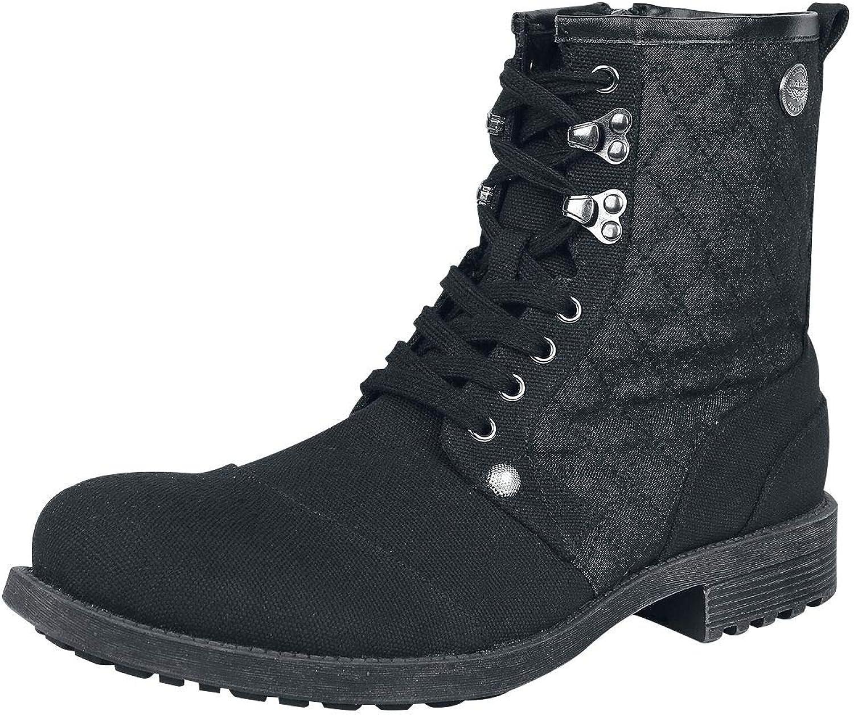 Rock Rebel by EMP Walk On by Boot Black