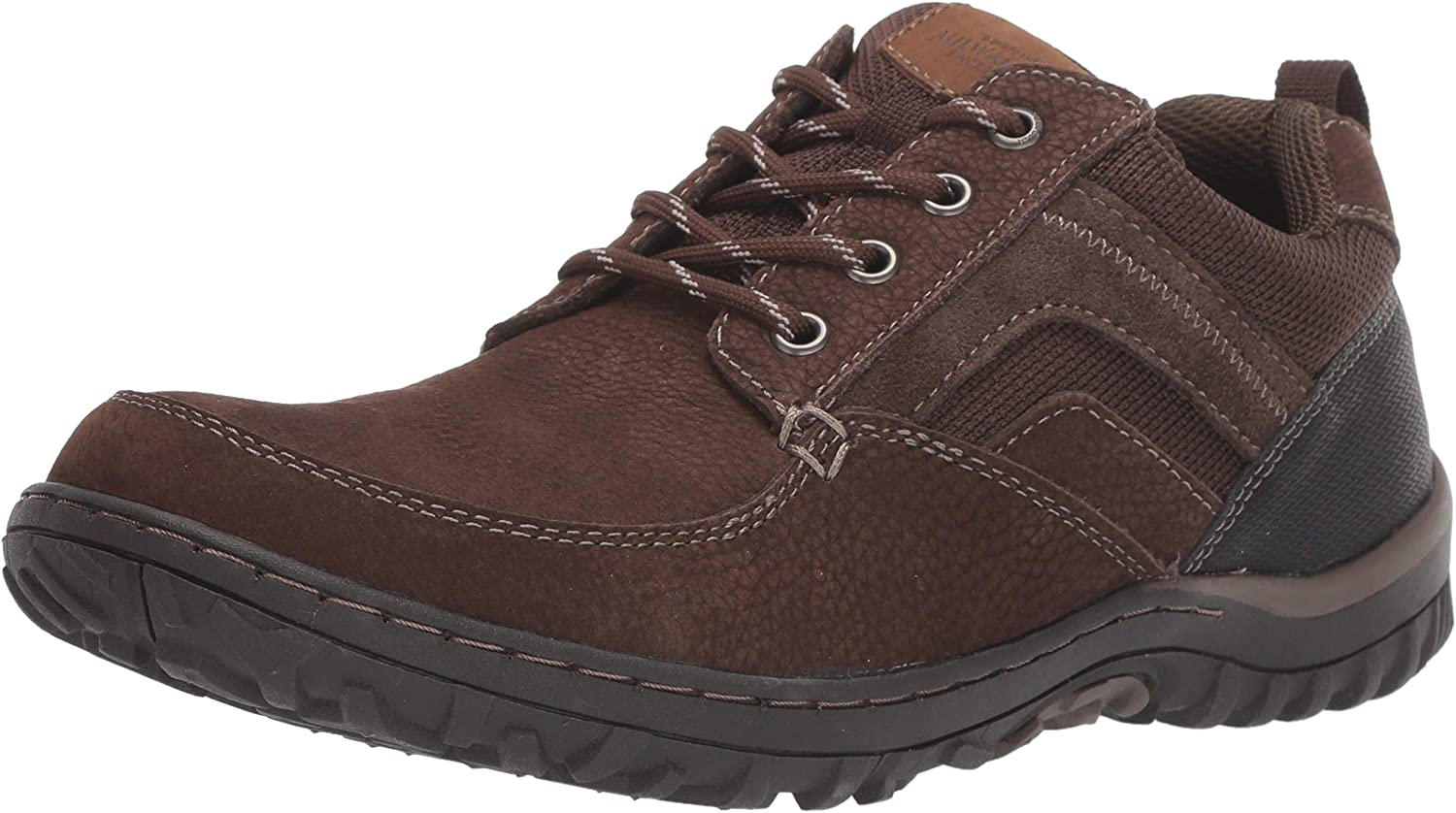 Nunn Bush Men's Quest Moccasin National uniform free shipping Toe Oxford Rugged Casual Lace Up Ranking TOP3