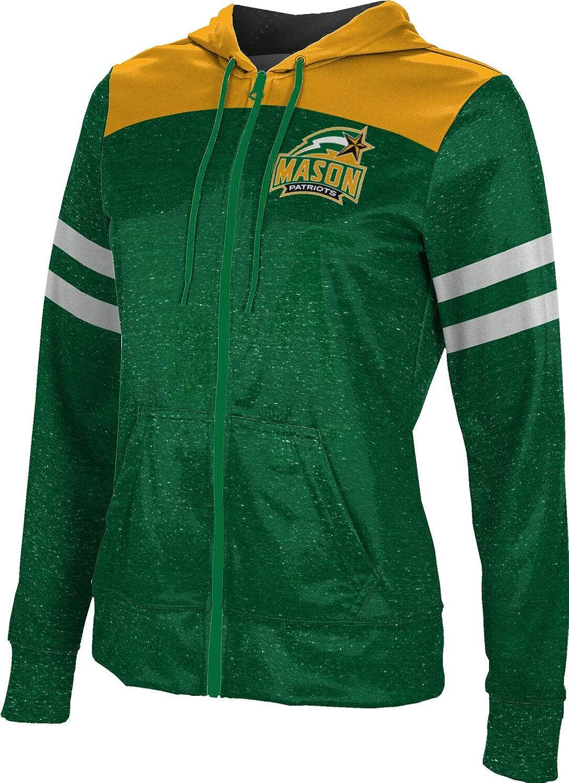 ProSphere George Mason University Girls' Zipper Hoodie, School Spirit Sweatshirt (Gameday)
