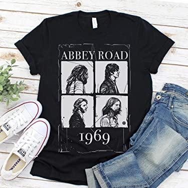 The Beatles Abbey Road Graphic Tee Shirts Men's and Women's T-shirt Unisex tees Beatles Blocks
