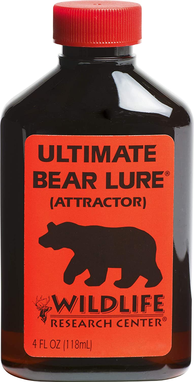 Wildlife Research 100 Ultimate Bear Lure Bear Attractor (4-Fluid Ounce),Red
