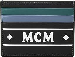 Coburg Logo Stripe Card Case Mini