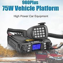 Mobile Ham Radio Transceiver Dual Band 144/430MHz VHF(75W)/UHF(50W) 200CH High Power Two Way Radio FM Amateur VHF UHF Mobi...