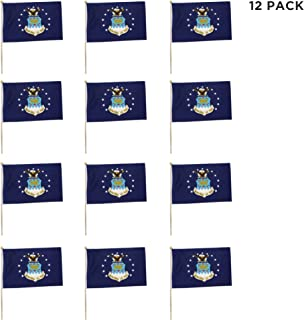 (12 Pack) US Air Force Flags 12