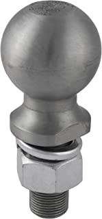 CURT 40042 Raw Steel Trailer Hitch Ball, 12,000 lbs., 2-5/16-Inch Diameter Tow Ball with 1-Inch x 2-1/4-Inch Shank