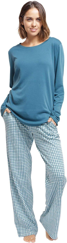 jijamas Incredibly Soft Pima Cotton Women's Re Set Pajamas New color online shop - The