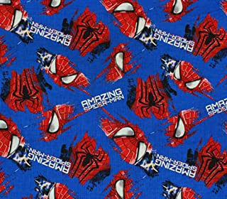 100% Cotton Fabric Quilt Prints - The Amazing Spider-Man s / 45
