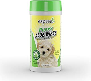 Espree Wipes sensitive puppy Powder fragrance 50 Wipes