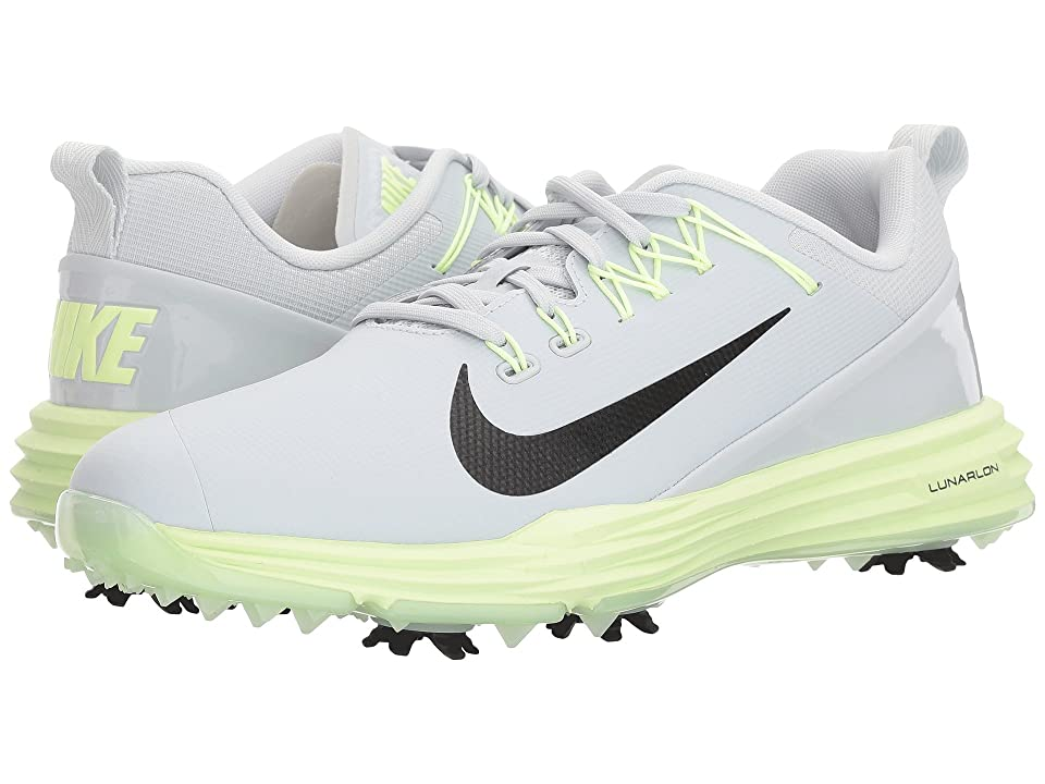 Nike Golf Lunar Command 2 (Pure Platinum/Black/Barely Volt) Women