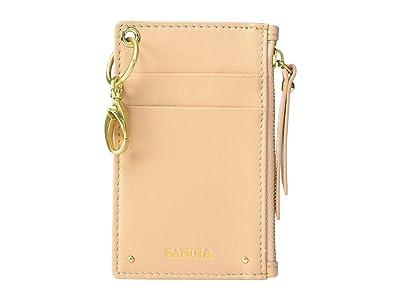 SANCIA Mimmie Card Pouch (Toast) Wallet Handbags