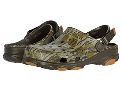 Crocs Classic All Terrain Mossy Oak Clog (Khaki) Shoes
