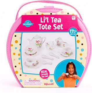 Toysmith 17-Piece Li'l Tea Tote Set