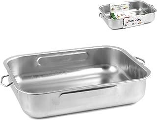 steel pan SUD448 Casseruola con Becco e 1 Manico Multicolore