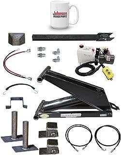 6 Ton (12,000 lb) Dump Trailer Hydraulic Scissor Hoist Kit | PH416 | Perfect for Dump Trucks & Trailers (Standard)