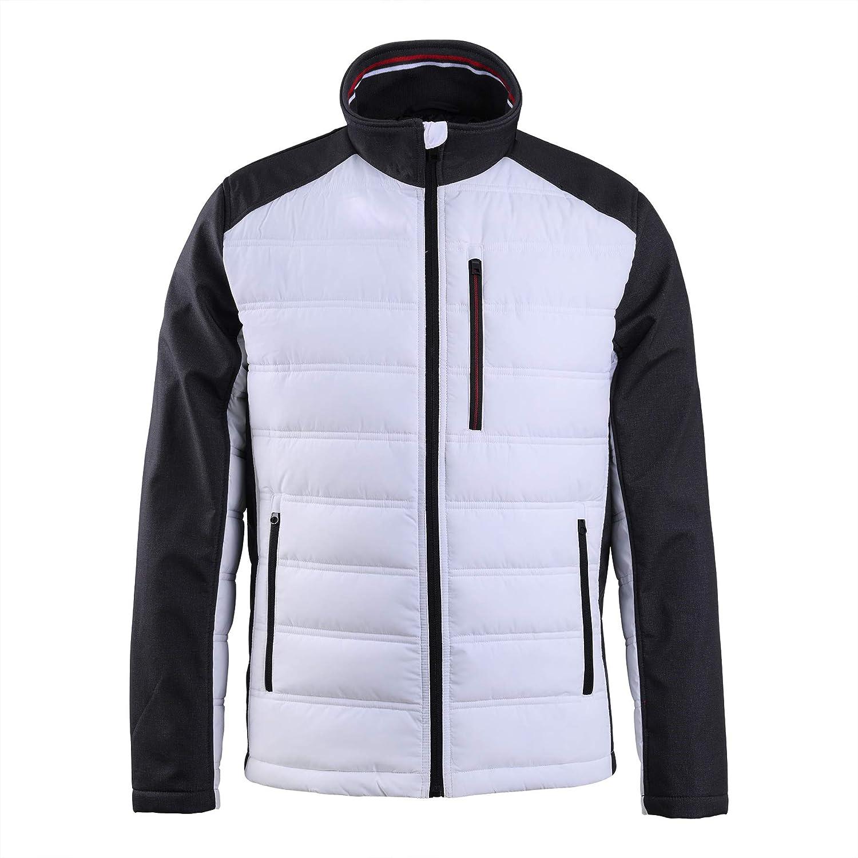XPOSURZONE Mixed Media Softshell Jacket Men's Fleece Outwear