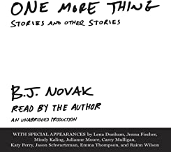 Best one more thing bj novak Reviews