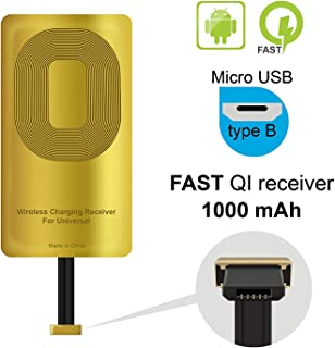 YX&SH Qi Receiver Mobile Phone Wirless Charging Reciever Accessories for Blu Vivo X - Blu Vivo XL3 - Alcatel One Touch- HT...