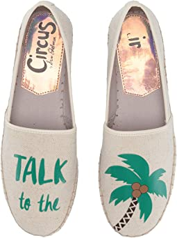 Ivory (Talk To The Palm) Two-Tone Heavy Canvas