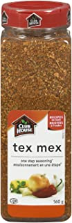 Club House Tex Mex Seasoning One Step, 560 Gram/19.75oz {Imported from Canada}
