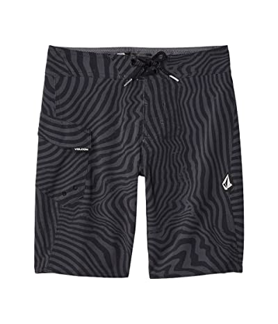 Volcom Kids Filbert Stripe Mod (Big Kids) (Black) Boy