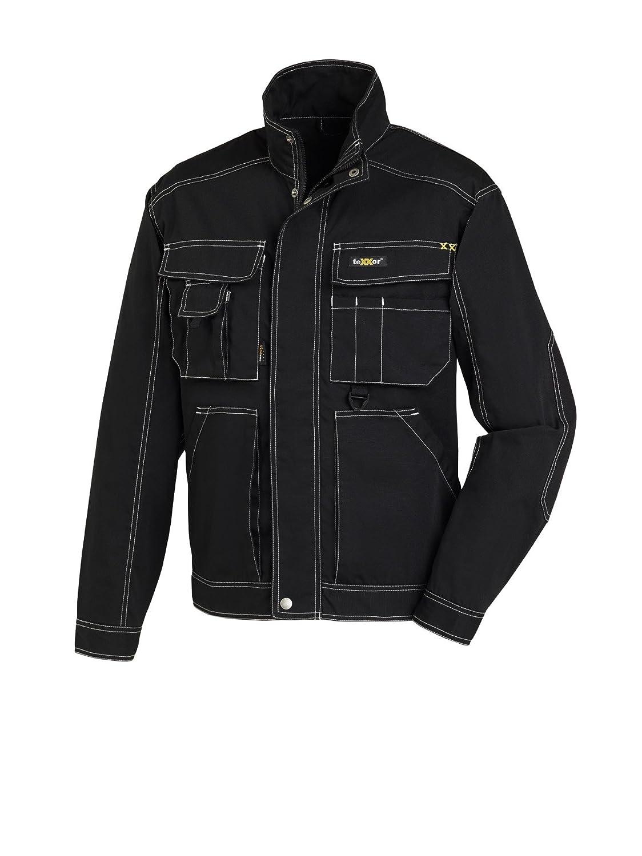 Negro teXXor cintura Chaqueta Antigua 4161 /Chaqueta de trabajo T//C canvas robusta/