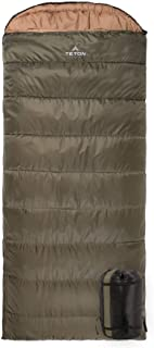 TETON Sports Celsius Regular -18C/0F Sleeping Bag for Women; 0 Degree Sleeping Bag Great for Cold Weather Camping