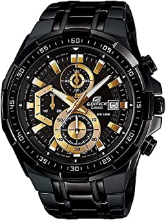 Casio Edifice for Men - Analog Stainless Steel Band Watch - EFR-539BK-1AVUDF, Quartz