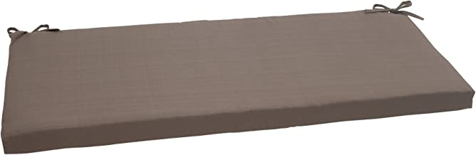 Pillow Perfect Indoor/Outdoor Forsyth Bench Cushion, Taupe