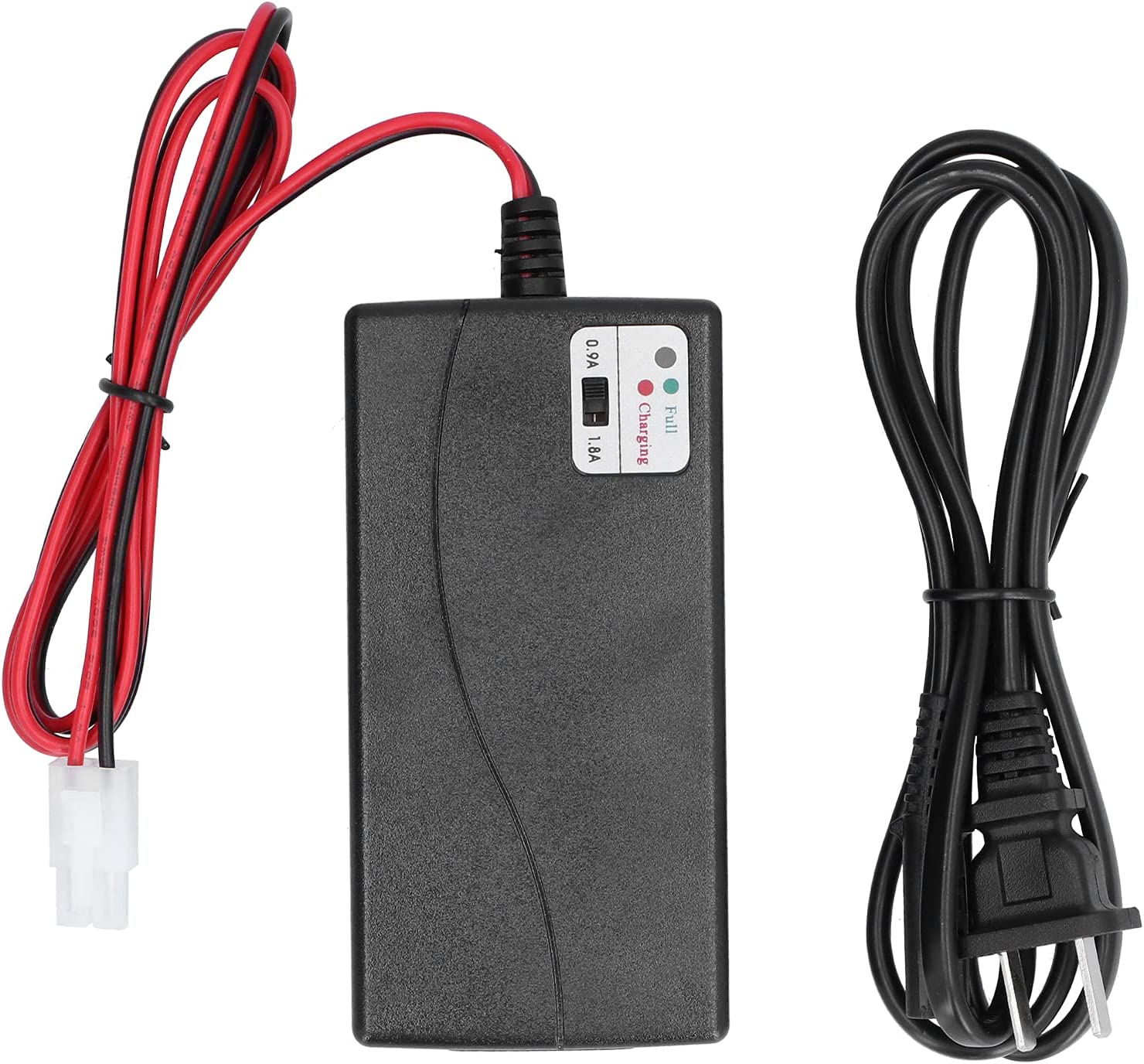 Eujgoov Smart Battery Charger with and OFFicial shop LED Regular discount Standard Ad Indicator