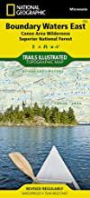 Boundary Waters East [Canoe Area Wilderness, Superior National Forest] (National Geographic Trails Illustrated Map (752))