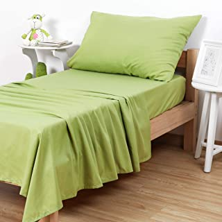 TILLYOU Microfiber Bed Sheets Set 3 Pieces Green 43234-182