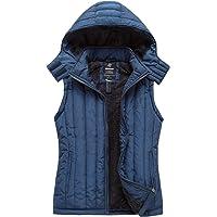 Wantdo Women's Hooded Fleece Vest