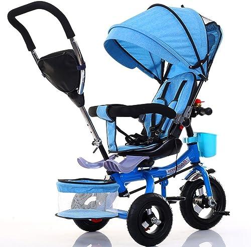 Kinderfürr r Guo Shop- Kinder Dreirad Faltbare fürrad Baby Fu inderwagen 1-6 Jahre Alt Titan Leere Rad Farbe Auto Rahmen
