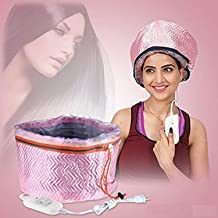 HNESS Hair Care Thermal Head Spa Cap Treatment with Beauty Steamer Nourishing Heating Cap, Spa Cap For Hair, Spa Cap Steamer For Women, spa cap steamer, heating cap for spa (Multi Colour)