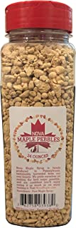 Nova Maple Sugar Pebbles - Pure Maple Syrup Sugar Chunks and Sprinkles (24 Ounces)