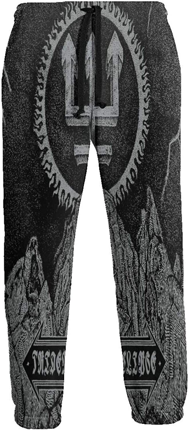 Mary A Poore Watain Long Pants Boy's Jogger Sweatpants Personality Drawstring Waist Trousers with Pockets